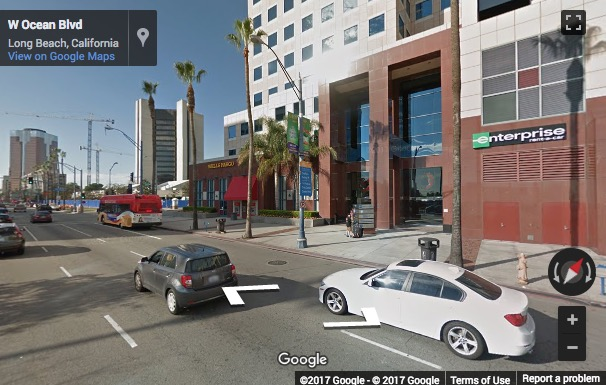 Street View image of 111 West Ocean Blvd., 4th Floor, Long Beach, California, USA