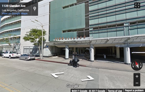 Street View image of 1100 Glendon Avenue, 17th Floor, Los Angeles, California, USA