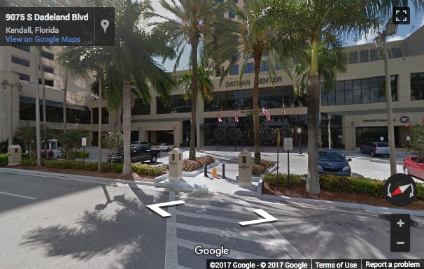 Street View Image Of 9100 South Dadeland Boulevard Suite 1500 Datran One Miami