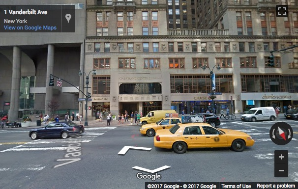 Street View image of 60 E 42nd Street, One Grand Central Place, New York, New York State, USA