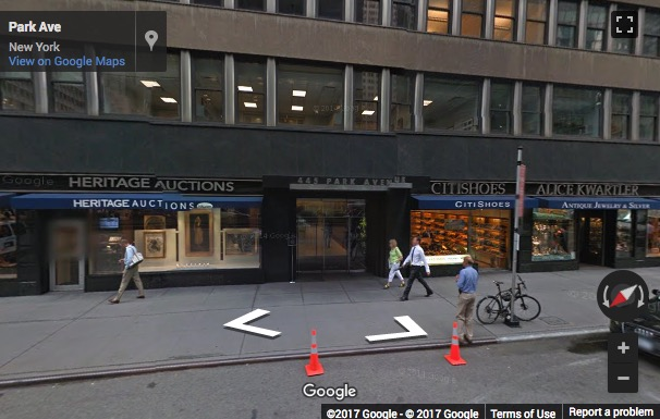 Street View image of 445 Park Avenue, Suite 900/1000, New York, New York State, USA