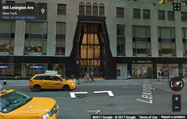 Street View image of 405 Lexington Avenue, Suite 2500/2600, Chrysler Building Center, New York