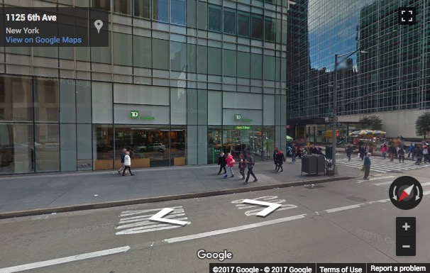 Street View image of 1120 Avenue of the Americas, New York, New York State, USA