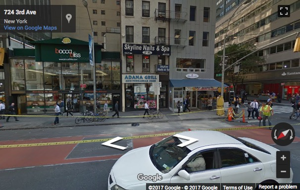 Street View image of 733 Third Ave. @ 46th street, New York, New York State, USA
