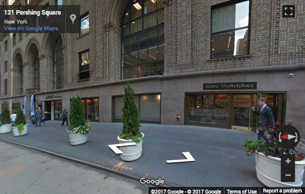 Street View image of 125 Park Avenue, New York, New York State, USA