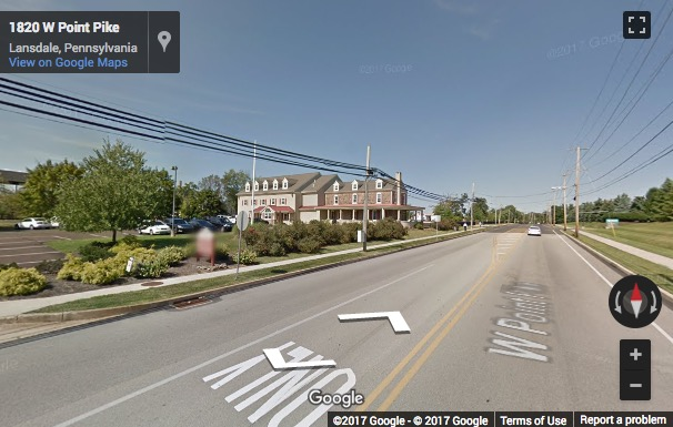 Street View image of 1816 West Point Pike, West Point Commons, North Wales, Pennsylvania, USA