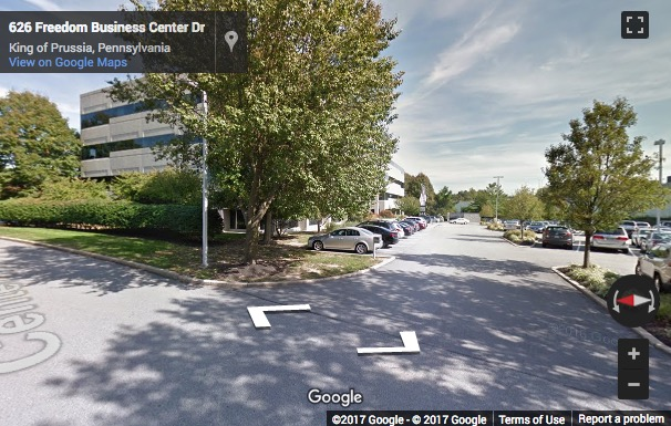 Street View image of 630 Freedom Business Center, King Of Prussia Center, King of Prussia, Pennsylvania, USA