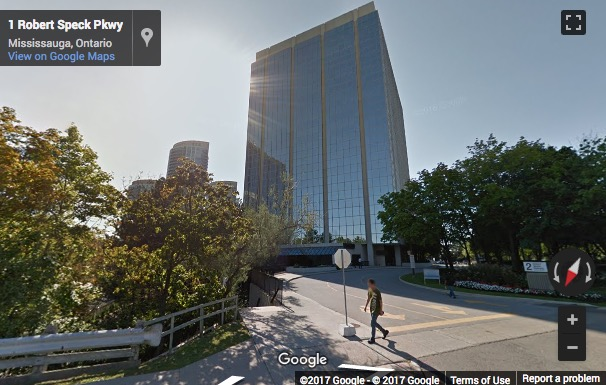Street View image of Suite 750, 2 Robert Speck Parkway, Mississauga, Ontario, Canada
