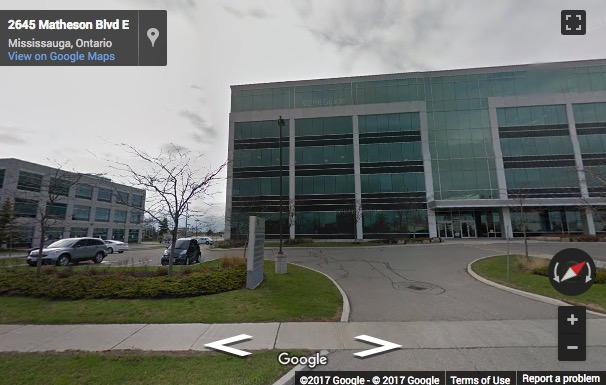 Street View image of 2680 Matheson Boulevard, Mississauga, Ontario, Canada
