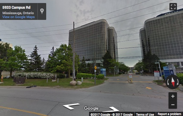 Street View image of 5925 Airport Road, Suite 200, Mississauga, Ontario, Canada