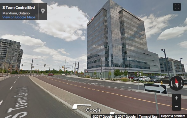 Street View image of 3601 Highway 7, Markham, Ontario, Canada