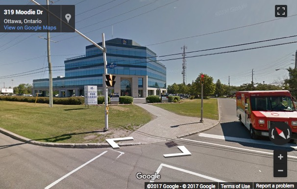 Street View image of 4th Floor Queensway Centre, 303 Moodie Drive, Bells Corners, Ottawa, Ontario, Canada