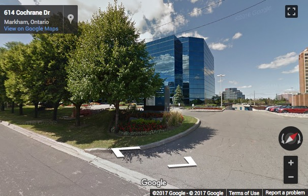 Street View image of 675 Cochrane Drive, East Tower, Markham North, Markham, Ontario, Canada