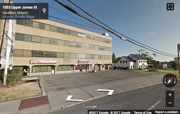 Street View image of 1030 Upper James Street, Suite 400, Hamilton, Ontario, Canada