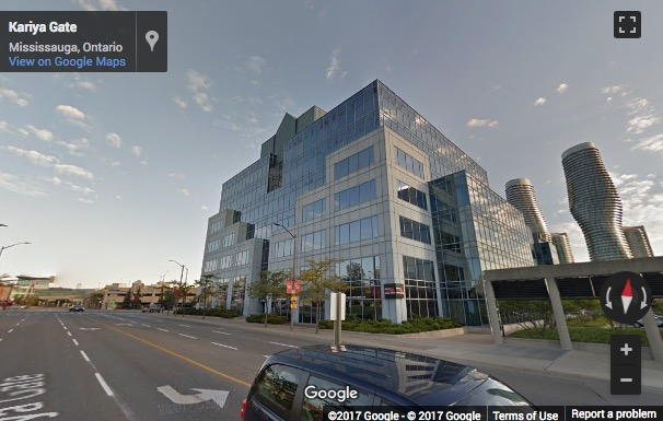 Street View image of 77 City Centre Drive, Suite 501, Mississauga, Ontario, Canada