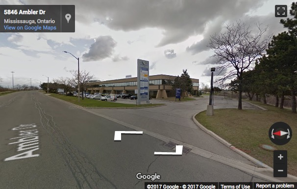 Street View image of 5800 Ambler Drive, Suite 210, Mississauga, Ontario, Canada