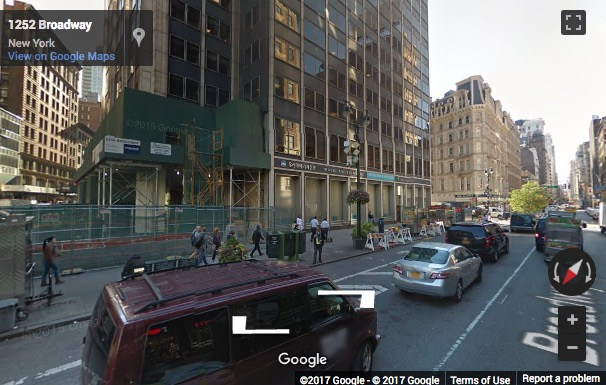 Street View image of 1250 Broadway, New York, New York State, USA