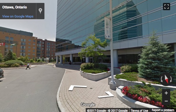 Street View image of 343 Preston Street, 11th Floor, Ottawa, Ontario, Canada