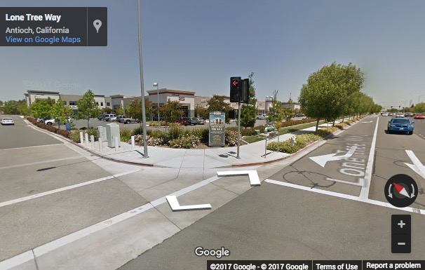 Street View image of 5179 Lone Tree Way, Antioch, California, USA