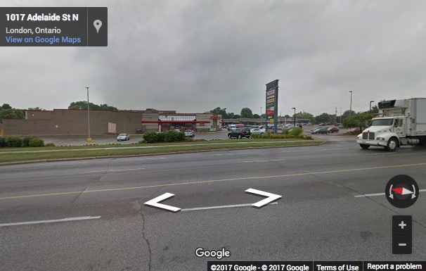 Street View image of 1034 Adelaide Street North, London, Ontario, Canada
