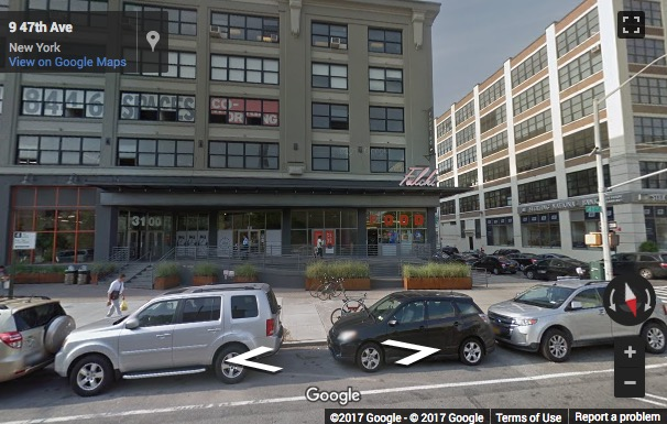 Street View image of 31 00 47th Avenue, Suite 3100B, Long Island City, New York, New York City Area, USA