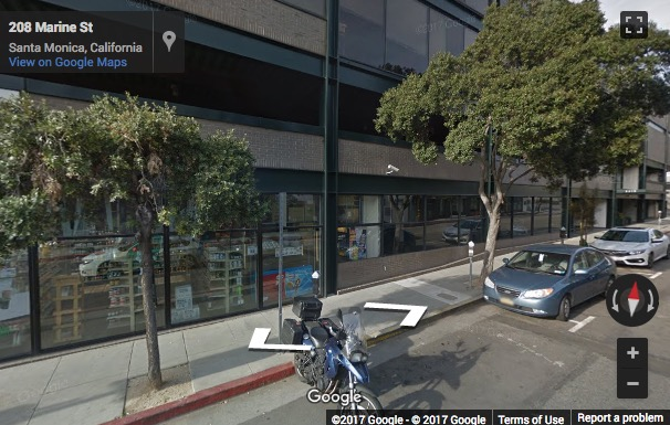 Street View image of 212 MARINE ST UNIT 100, Santa Monica, California, USA