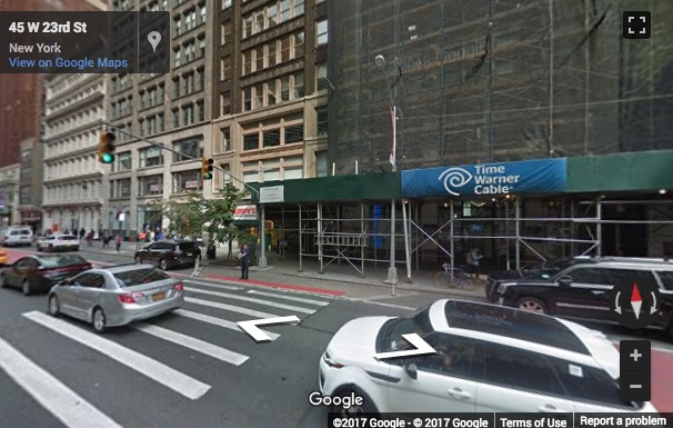 Street View image of 43 W 23rd St, New York, New York State, USA