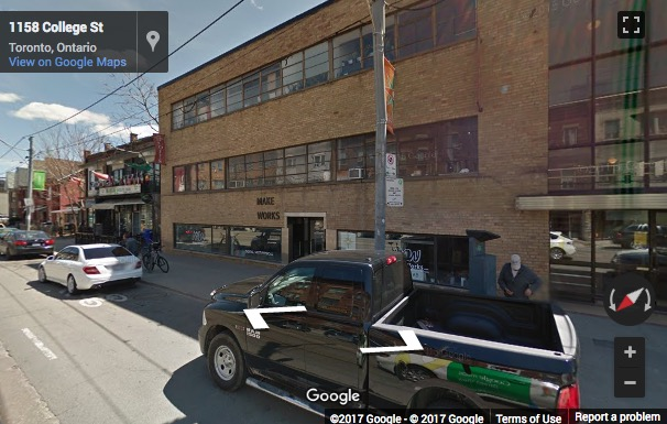 Street View image of 1139 College Street, Toronto, Ontario, Canada