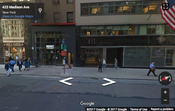 Street View image of 415 Madison Avenue, 14th and 15th floor, Madison Avenue, Midtown, Grand Central, New York