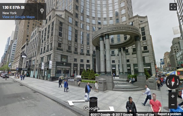 Street View image of 135 East 57th Street, 6th Floor, New York, New York State, USA