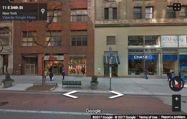 Street View image of WeWork Empire State Building, 1st Floor, 349 5th Avenue, New York, New York State, USA