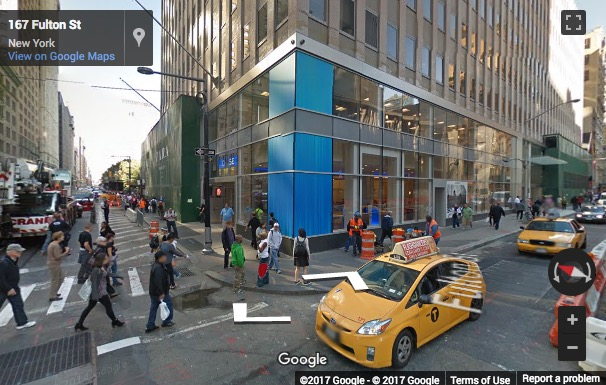 Street View image of 222 Broadway, 19th Floor, City Hall, New York, New York State, USA