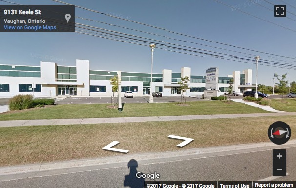 Street View image of 9131 Keele Street, Suite A4, Keele Rutherford Corporate Centre, Vaughan