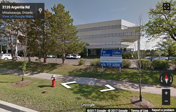 Street View image of 2233 Argentia Road, Suite 302 East Tower, Mississauga, Ontario, Canada