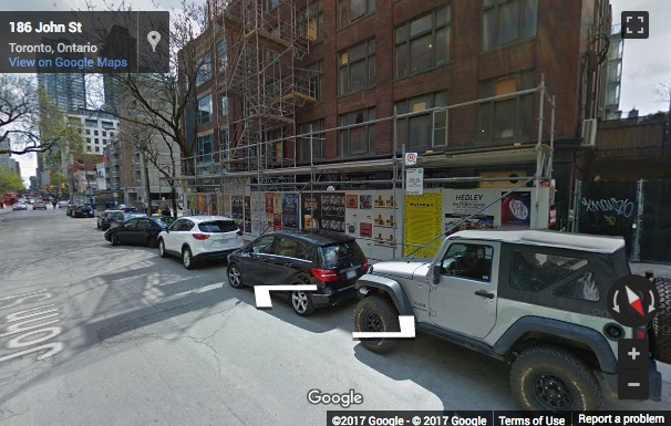 Street View image of 180 John Street, Spaces Toronto, Queen West, Toronto, Ontario, Canada