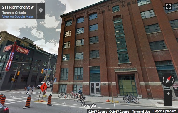 Street View image of 240 Richmond Street W, Toronto, Ontario