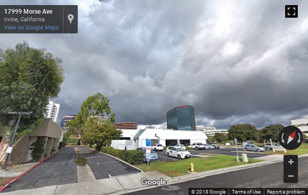 Street View image of 2372 Morse Avenue, Irvine, California