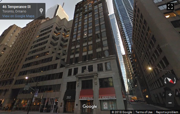 Street View image of 350 Bay Street, Suite 700, Toronto, Ontario