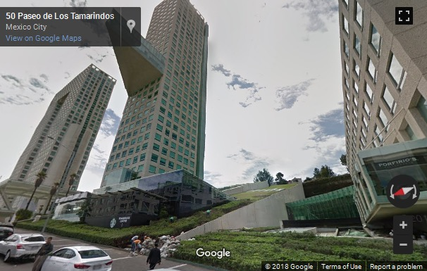 Street View image of Arcos Bosques, Paseo De Los Tamarindos 90, Mexico City