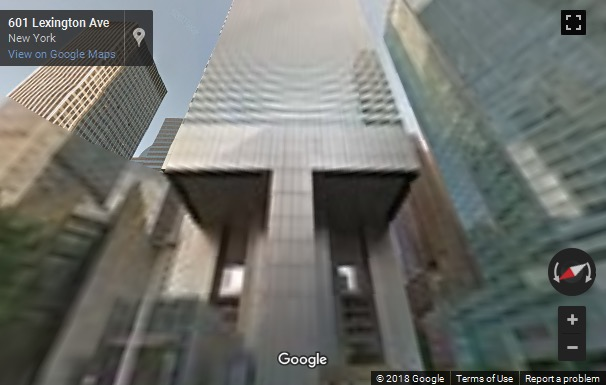 Street View Image Of 601 Lexington Avenue New York City