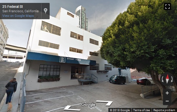Street View image of 32 Federal St, Suite 1A, San Francisco, California